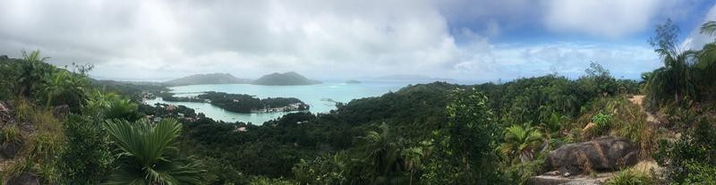 海椰子公园最高处的风景