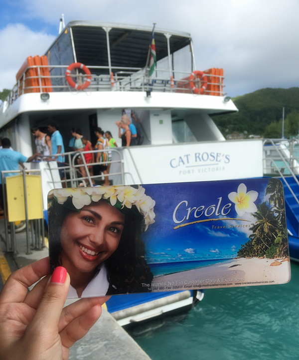 比明信片更美的游船,即将去往美丽的大海