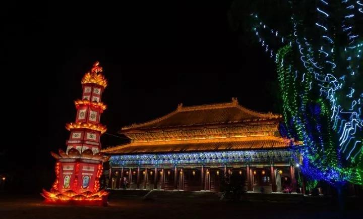 潼关古城国际大马戏完美首演 灯光艺术节震撼亮相