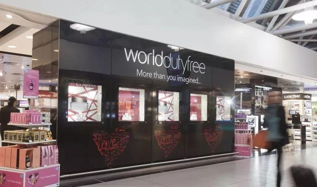 英国希思罗机场对中国人进行区别对待的免税店
