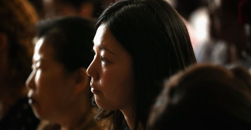 有批中国女孩在海外排队等待死刑...